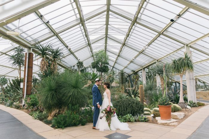 Glasshouse Wedding Kew Gardens