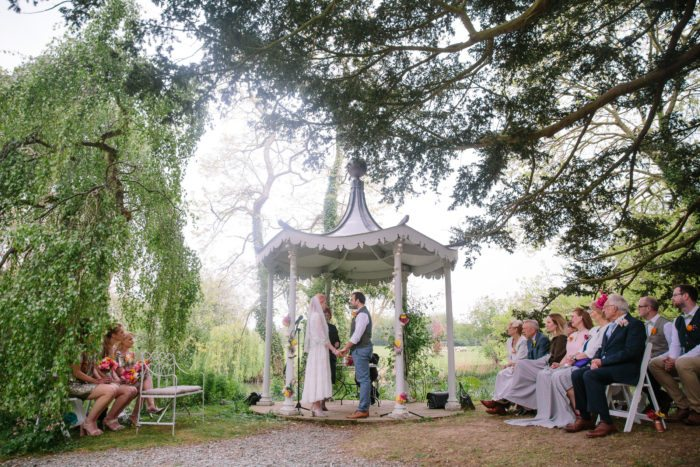 wedding bandstand