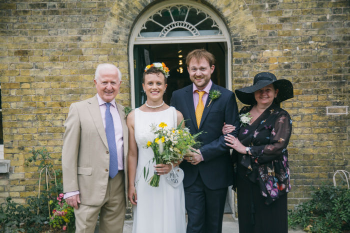 Wedding Family Picture in London